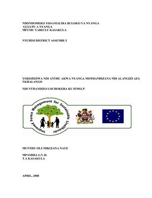 FMA Ntchisi Nyanga Block- Chichewa