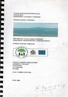 FMA Ntchisi Nyanja Block