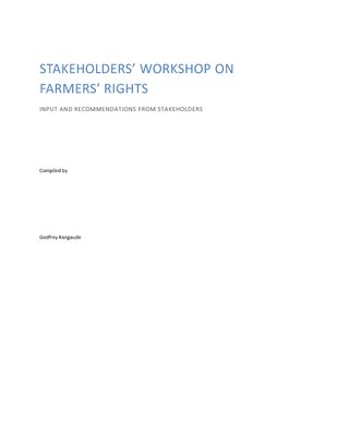 Stakeholders Workshop on Farmers Rights- Inputs and Recommendations from Stakeholders.pdf