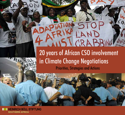 20 Years of African CSO Involvement in Climate Change Negotiations- Priorities, Strategies and Actions