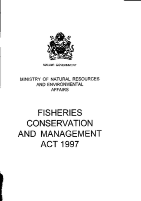 Fisheries Conservation and Management Act 1997