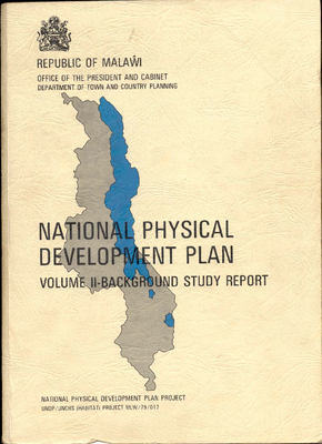 National Physical Development Plan Volume 2 1987