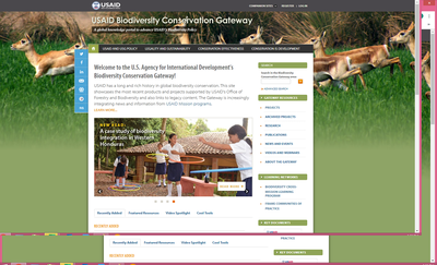 USAID Biodiversity Gateway