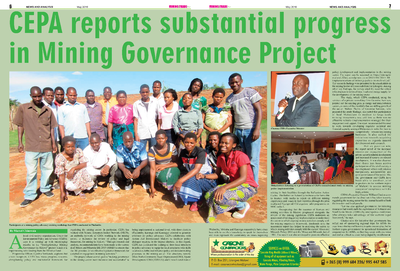 CEPA reports Substantial Progress in Mining Governance  Project