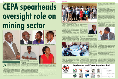CEPA Spearheads Oversight Role on Mining Sector